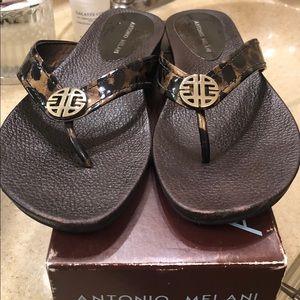 Pair Antonio Melanie Sandals sz 81/2. Never worn